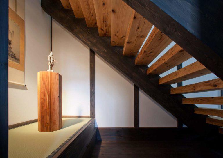 杉置台、杉(階段板)