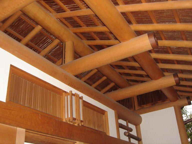 杉皮(天然杉皮・化粧杉皮)の施工例