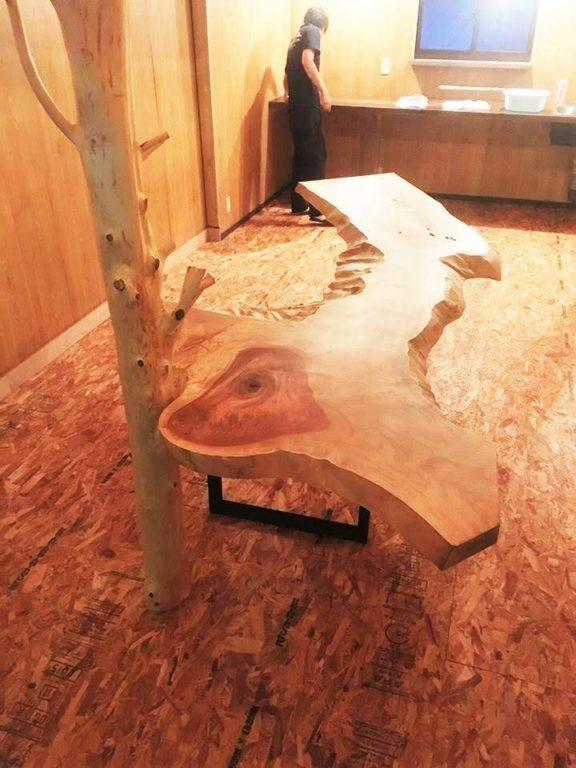 トチ板、枝長