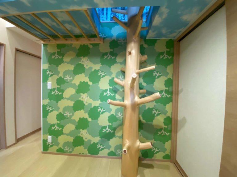 桧枝長、海布丸太(天井はしご)