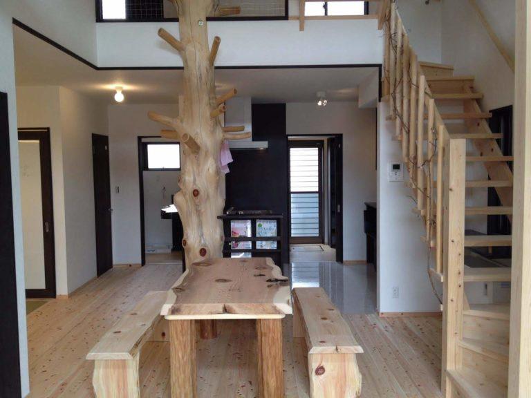 桧枝長、杉板、海布丸太、桧板、絞丸太