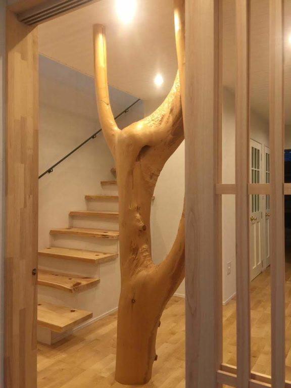 桧枝長、桧板(階段板)