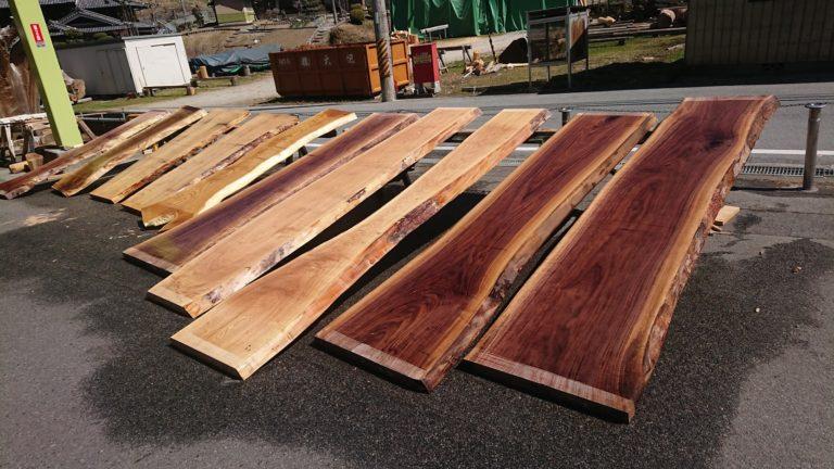 広葉樹板類